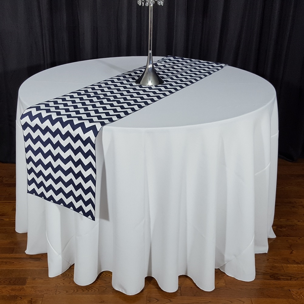 Best Kitchen Gallery: High Quality Poly Cotton Chevron Table Runners of Table Runners  on rachelxblog.com