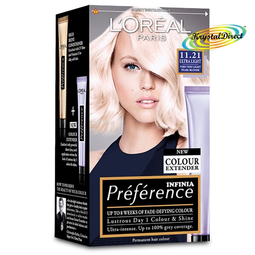 Loreal Preference 1121 Ultra Light VERY VERY LIGHT PEARL