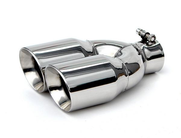 yonaka stainless steel 3 5 dual exhaust tip