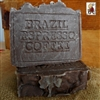 All Natural Artisan Handmade  Brazilian Espresso Coffee Soap Hint of Vanilla
