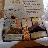 Handmade Gentlemen s All Natural Artisan   Individually Wrapped Soap Gift Set