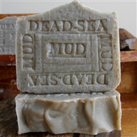 Handmade Natural Artisan Dead Sea Soap Black Mud With from Israel Anise and Bay Laurel All Natural Skin Care Soap