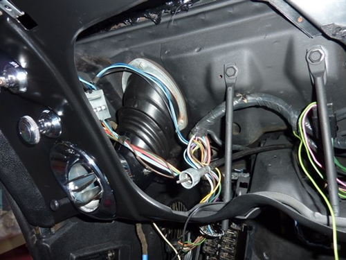 1968 Camaro Vent Duct Connector Adapter, Dash Astro