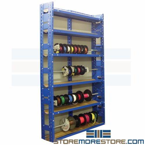 wire reel storage rack 3 w x 8 d x 7 h sms 62 880 7