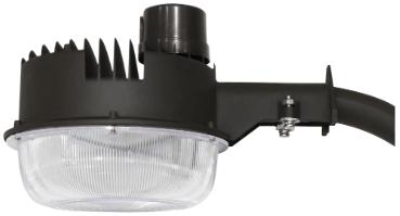led lighting wholesale inc area light barn light 45 watt with photocell