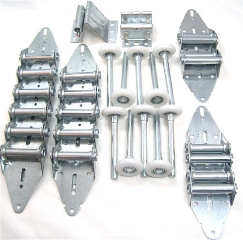 garage door hinge and roller tune up kit 16x7 or 18x7