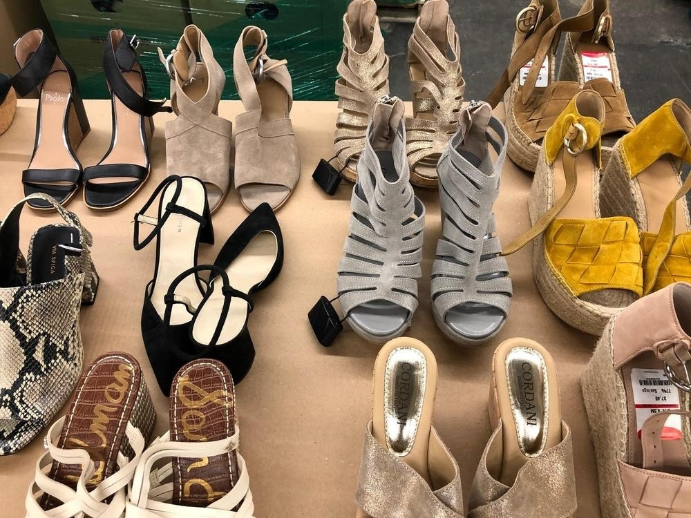 50pc women s shoes from nordstrom rack stores lot ndrkshoe50
