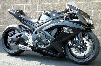 brock s performance alien head 14 muffler suzuki gsx r600 750 06 10 exhaust system