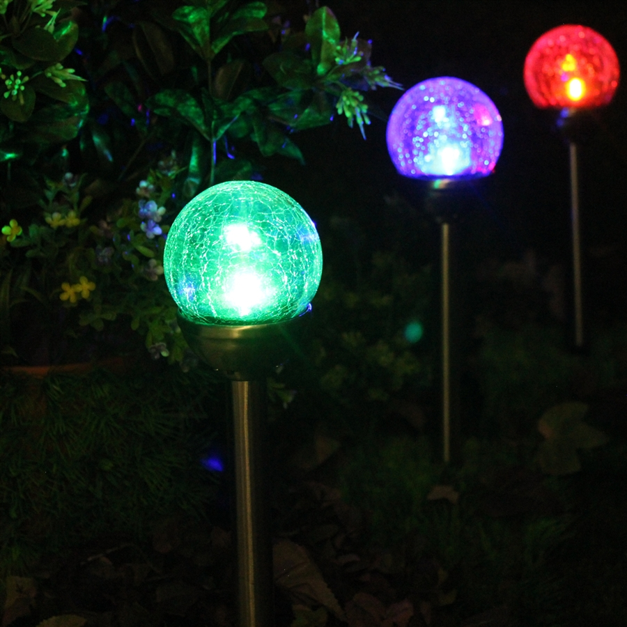 Color Changing Solar Lights