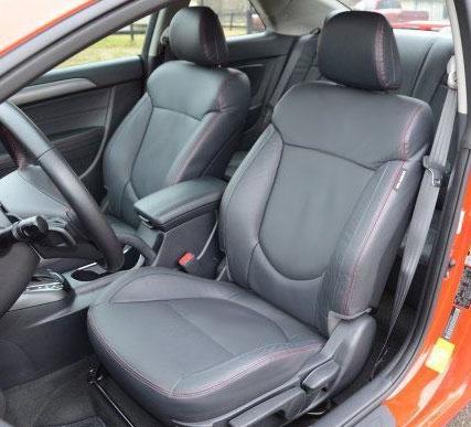 Kia Forte Koup Ex Sx Katzkin Leather Seats 2010 2011 2012 2013 Autoseatskins Com