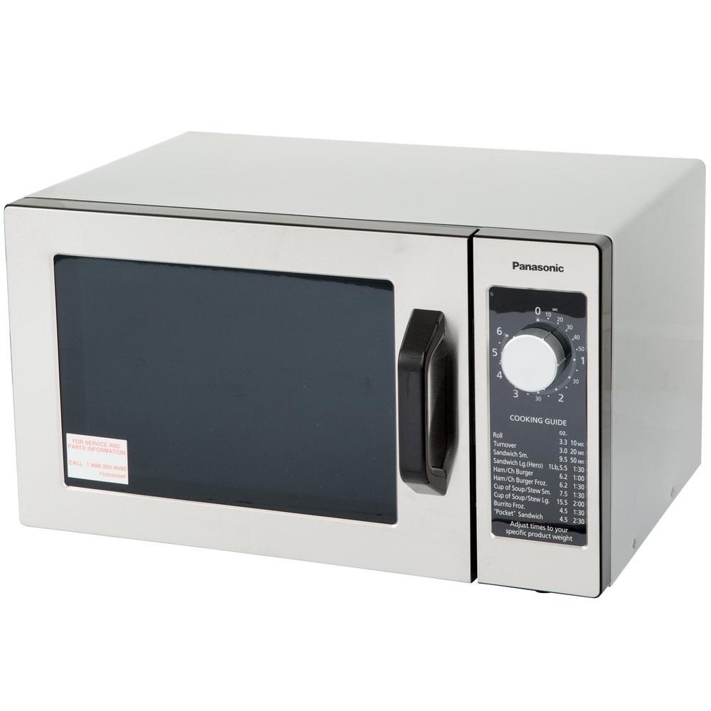 panasonic microwave oven 1000 watts 6 min dial timer ne 1025f