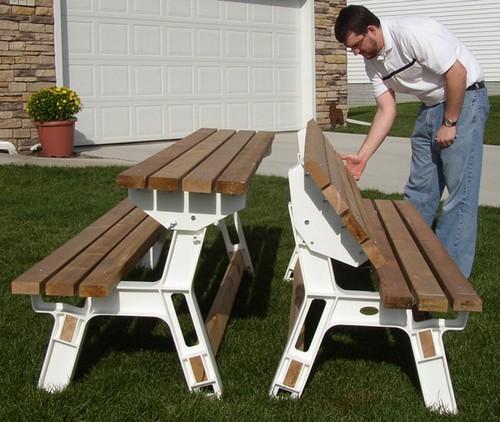 wood picnic table kits