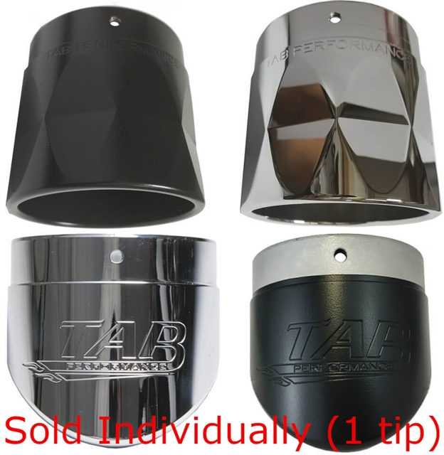 4 inch exhaust tips sold individually 1 pc