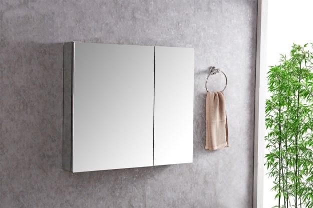 """30"""" wide bathroom medicine cabinet"""