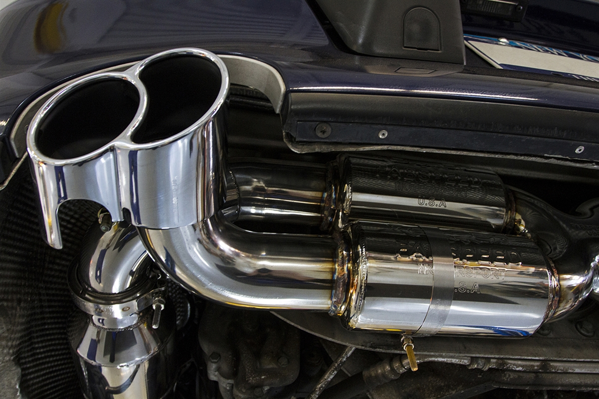 fabspeed supersport x pipe with x 50 tips 996tt gt2