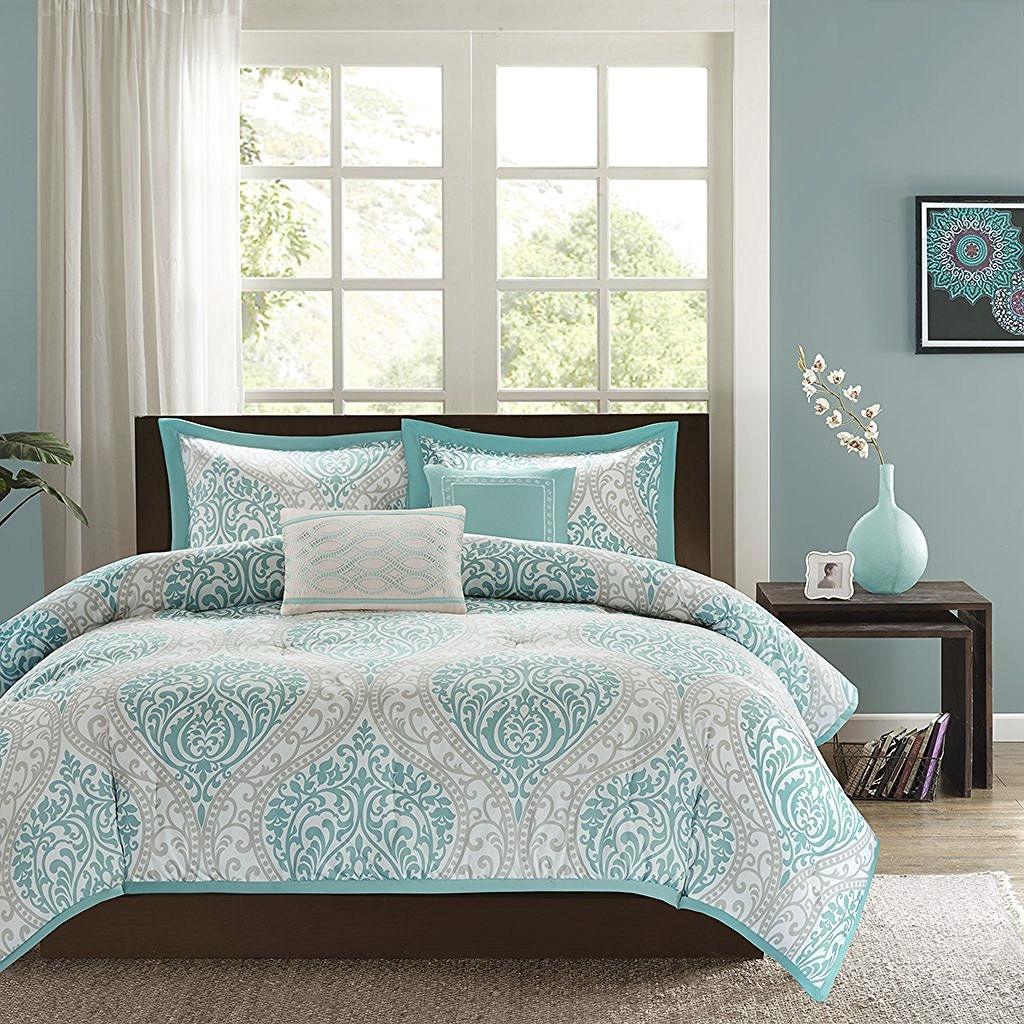 title   Light Blue Bedroom Set