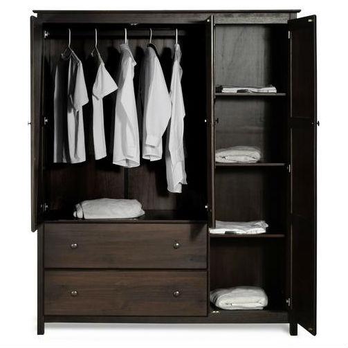 Best Kitchen Gallery: Espresso Wood Finish Bedroom Wardrobe Armoire Cabi Closet of Bedroom Wardrobe Cabinet on rachelxblog.com
