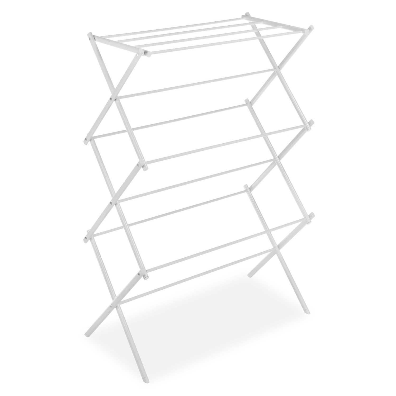White Folding Laundry Dryer Clothes Drying Rack