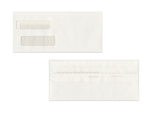 ENV STD Large Self Seal Double Window Envelopes ENV STD Self Seal Double Window Envelopes for QuickBooks Invoice