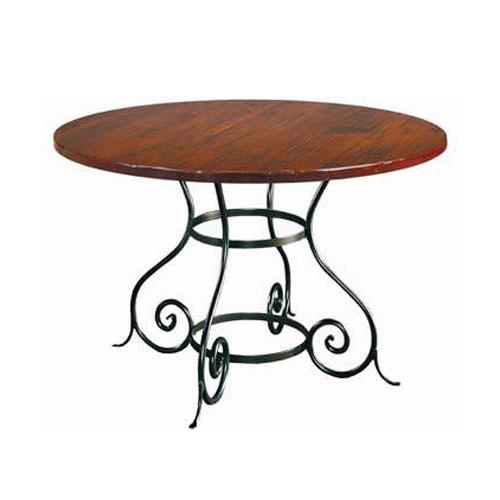 euro round dining table by charleston forge