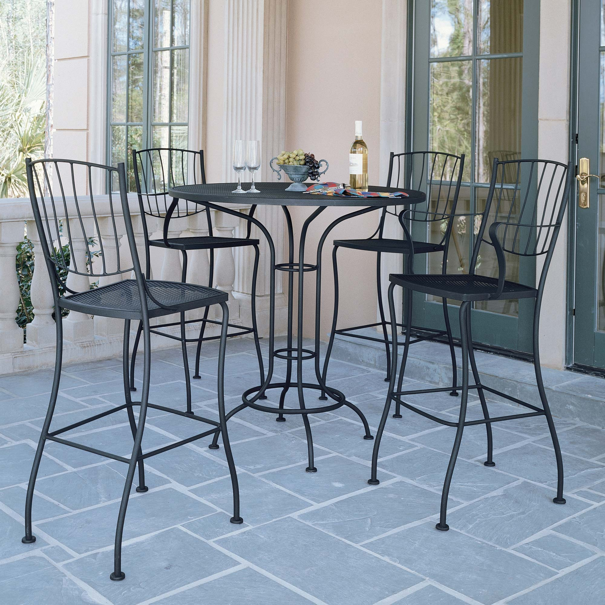 buy the 38 round bar height table for