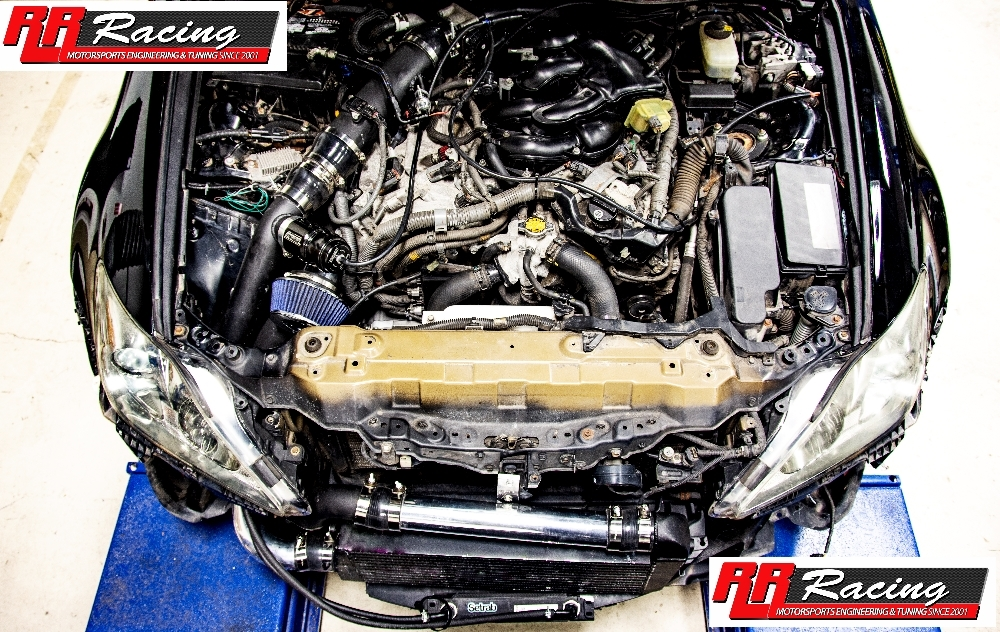 rr racing supercharger kit for lexus is250 awd 2006 2013