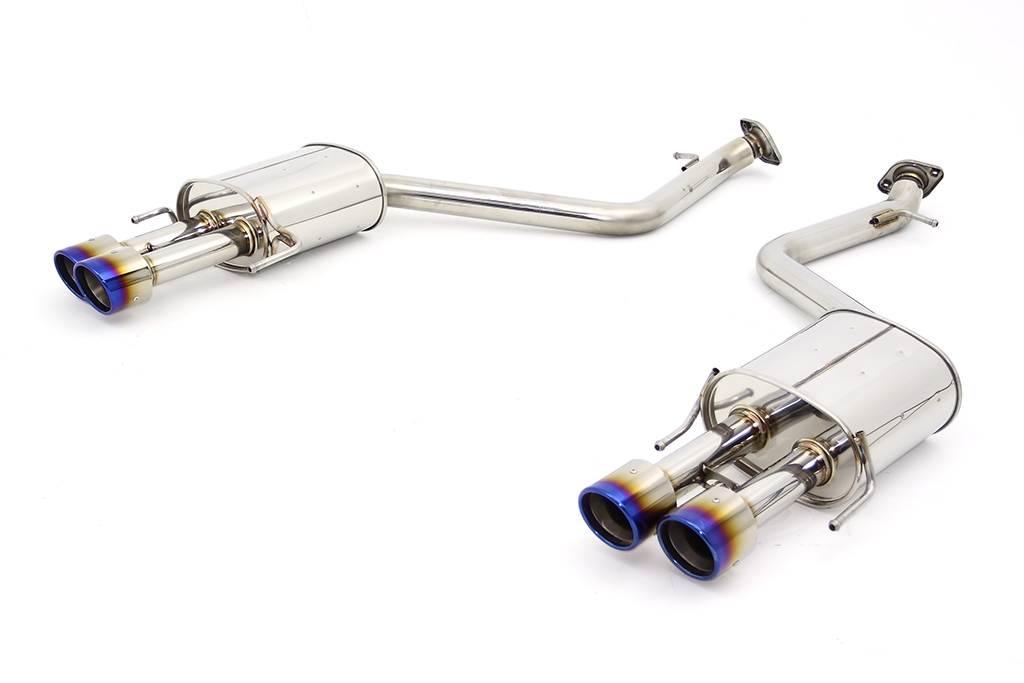 apexi n1 x evolution extreme axle back system for gs350