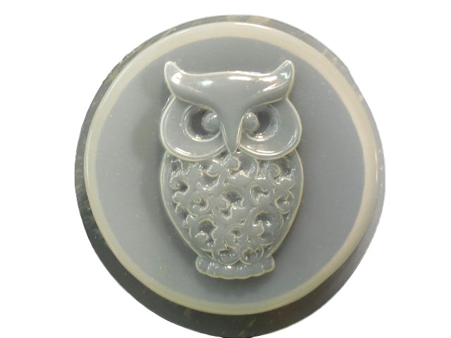 Large Owl Concrete Stepping Stone Mold 1334 Moldcreations