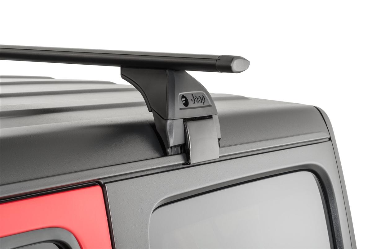 mopar removable roof rack kit for 2018 c jeep wrangler jl 2 and 4 door models
