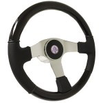 Ford Mustang S6 Black Wood Steering Wheel Cobra Kit