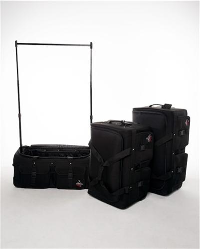 rac n roll black expandable dance bag 4 0 with rack medium