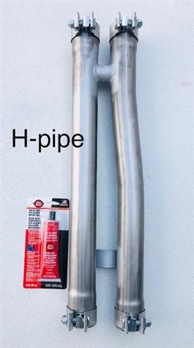 2011 2021 3 6l h pipe true dual exhaust