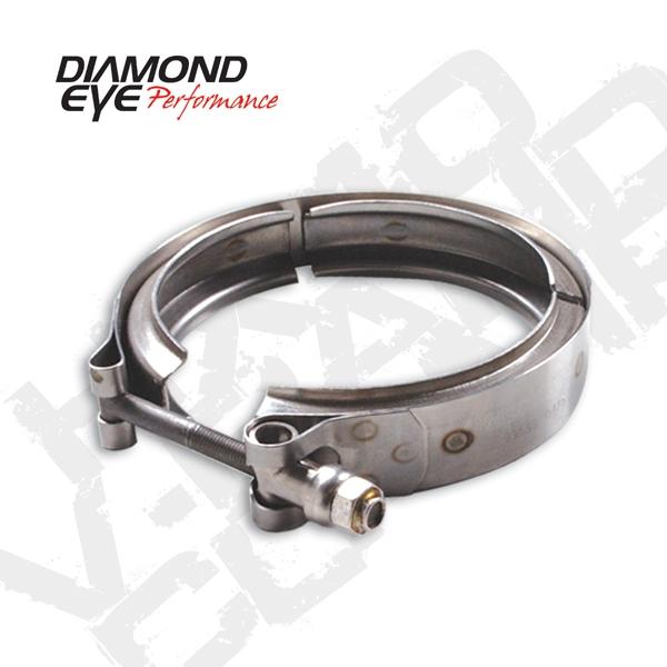 diamond eye vc400hx40 stainless steel v band clamp