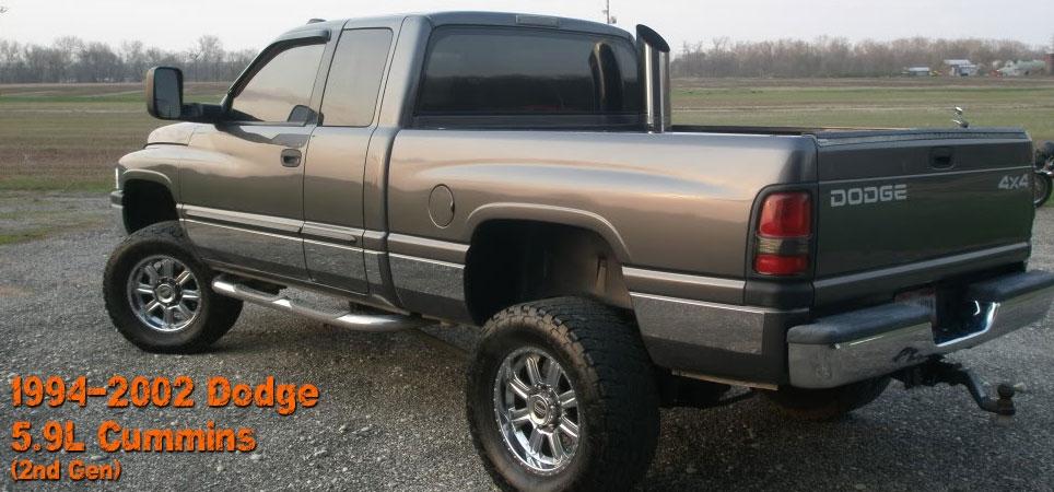 2nd gen dodge cummins 5 9l 94 02 diesel