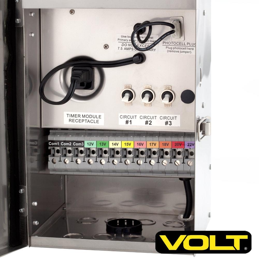 ProGrade Multitap 900 watt Transformer 12  22 volt   Landscape Lighting   VOLT®