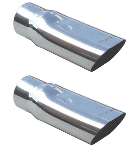 1969 1972 chevelle stainless exhaust extensions tips 2 1 2 inside diameter pair
