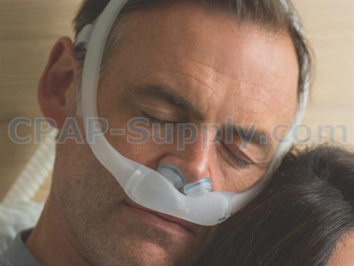 dreamwear gel pillows mask with headgear