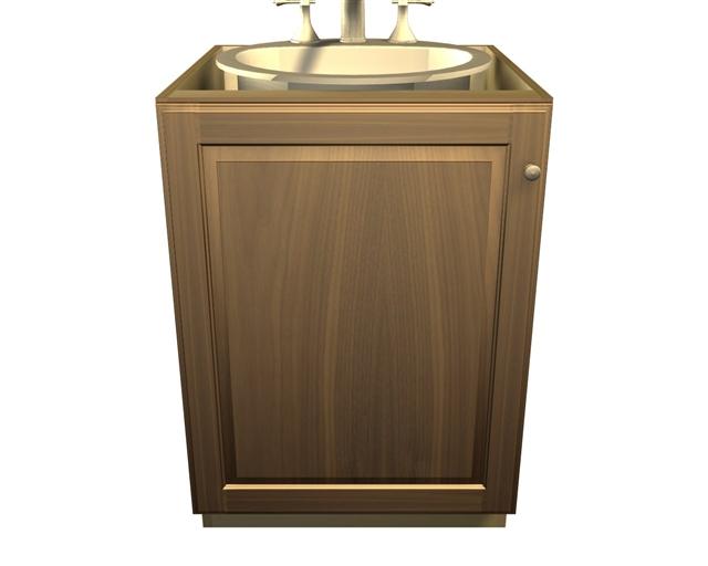 1 door sink base cabinet sink not included