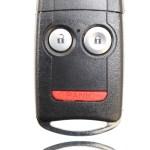 New Keyless Entry Remote Key Fob For A 2009 Acura Rdx W 3 Buttons Flip Key