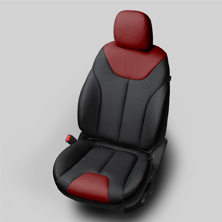 Dodge Dart Sxt Katzkin Leather Seat Upholstery 2014 2015 2016 Without Passenger Storage Cushion Split Rear Back Shopsar Com