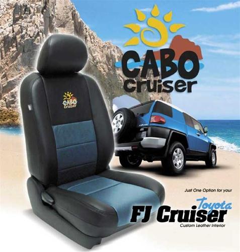 Toyota FJ Cruiser Katzkin Leather Seat Upholstery Kit