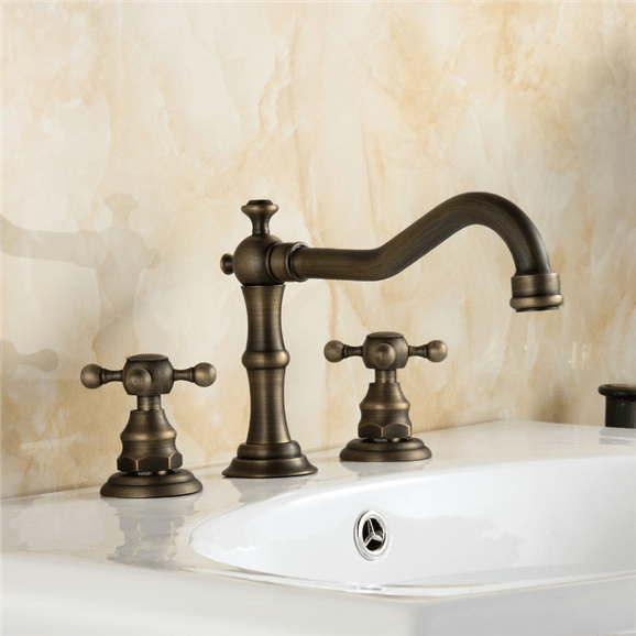https www bathselect com bathselect crimea antique brass dual handled bathr p bs111dma htm