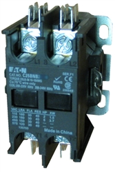 C25BNB230A Eaton Definite Purpose 2 pole Contactor rated at 30 AMPS with a 110v50Hz120v60Hz AC coil