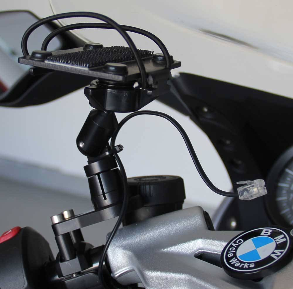 BMW Motorcycle Radar Detector Control Mount