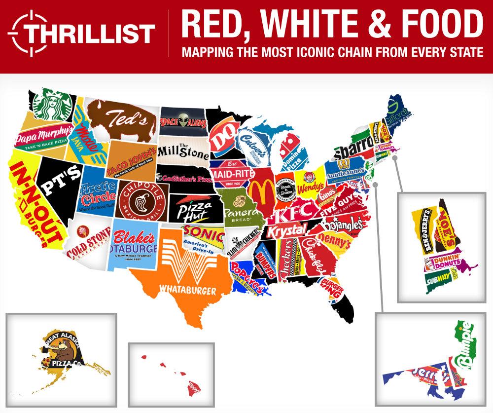 West Coast Fast Food Chains