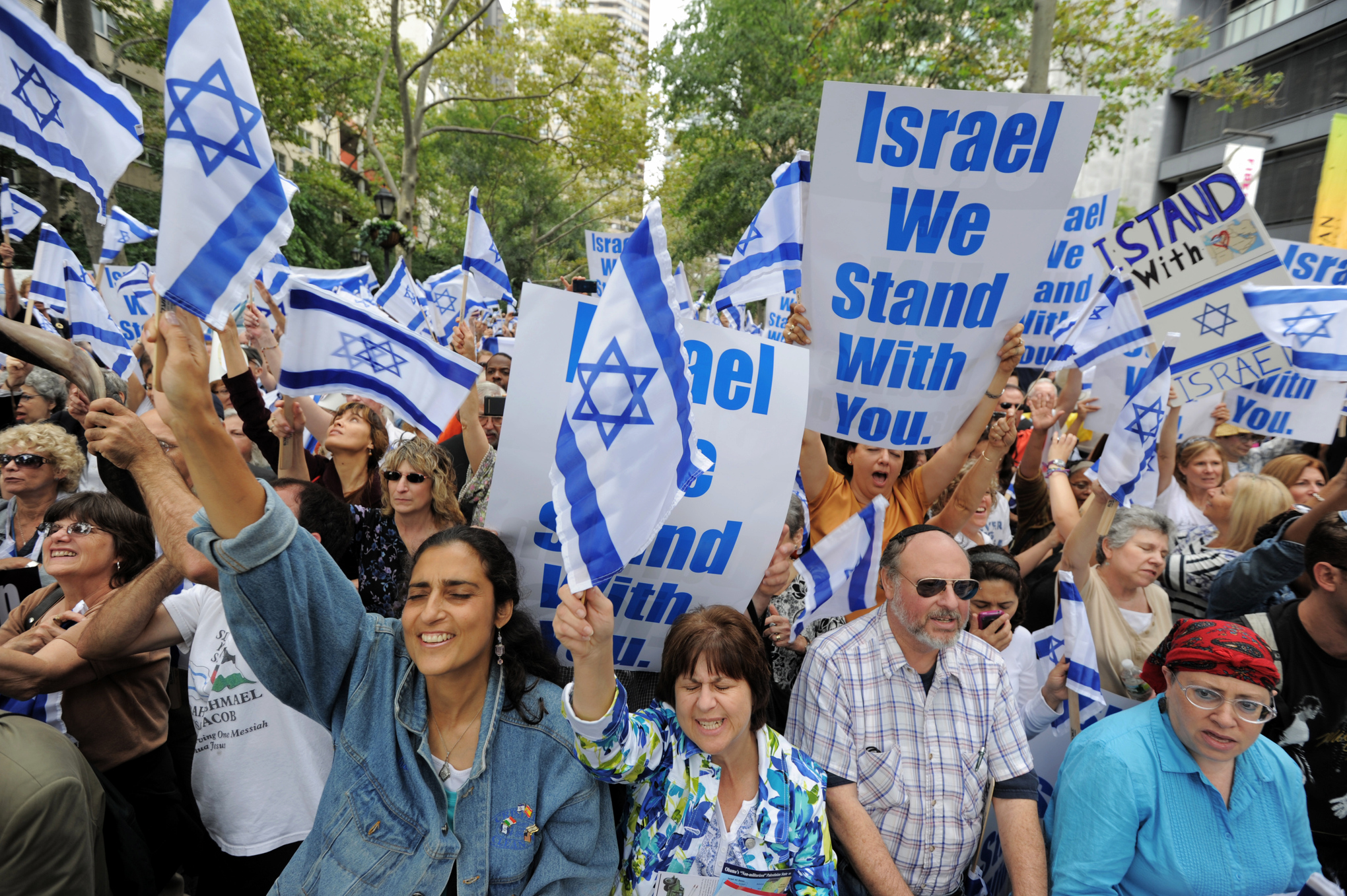 Image result for pro-israel jewish rally new york