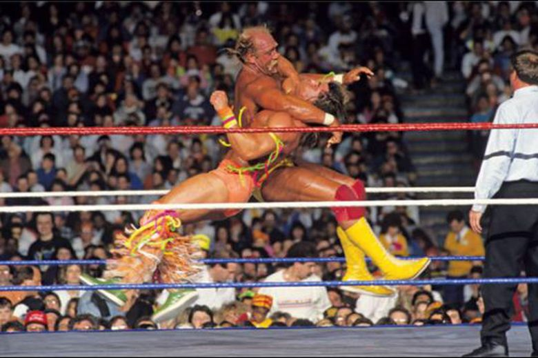 Ranking WrestleMania main events worst to best, #6: Ultimate Warrior vs. Hulk Hogan - Cageside Seats