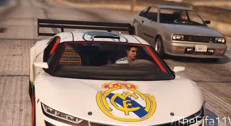 cr7 car