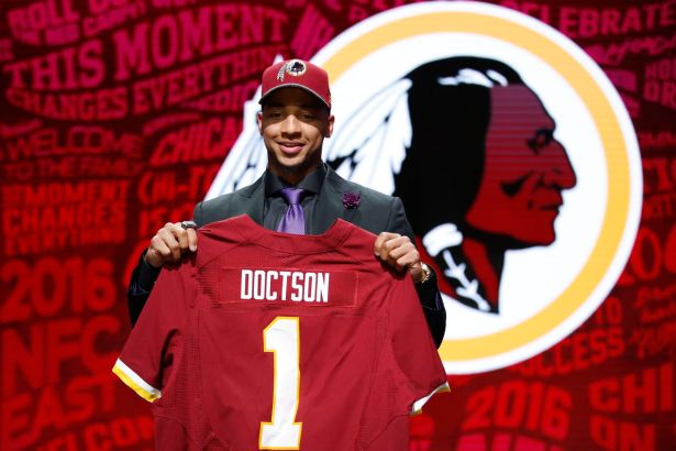 Redskins Select WR Josh Doctson with the 22nd Pick