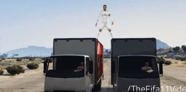 cr7 car stand